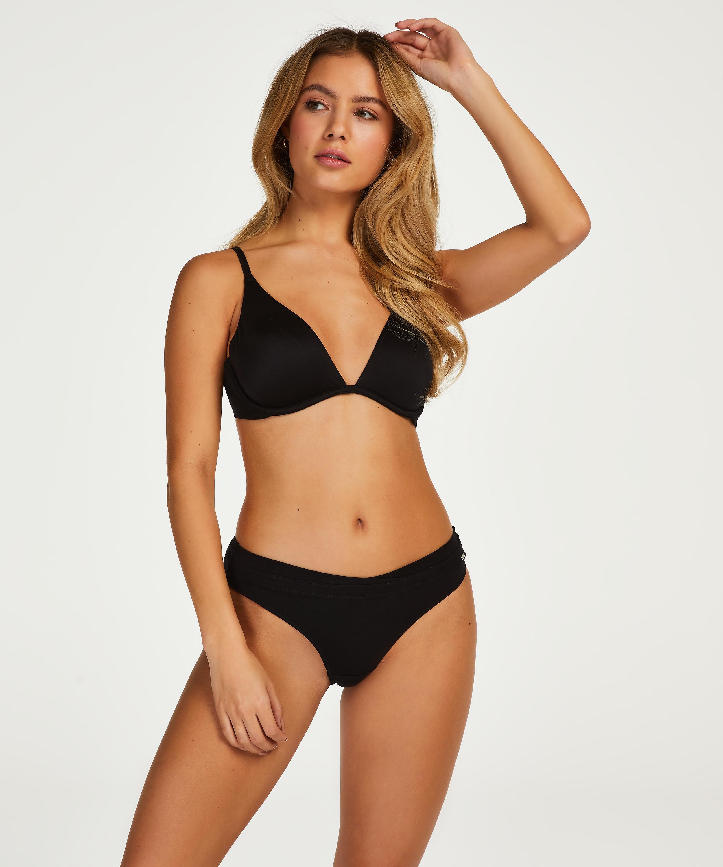 Soft non-padded underwired bra, Black, main