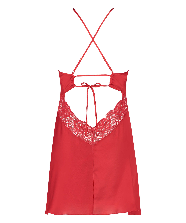 Nina Slip Dress, Red, main