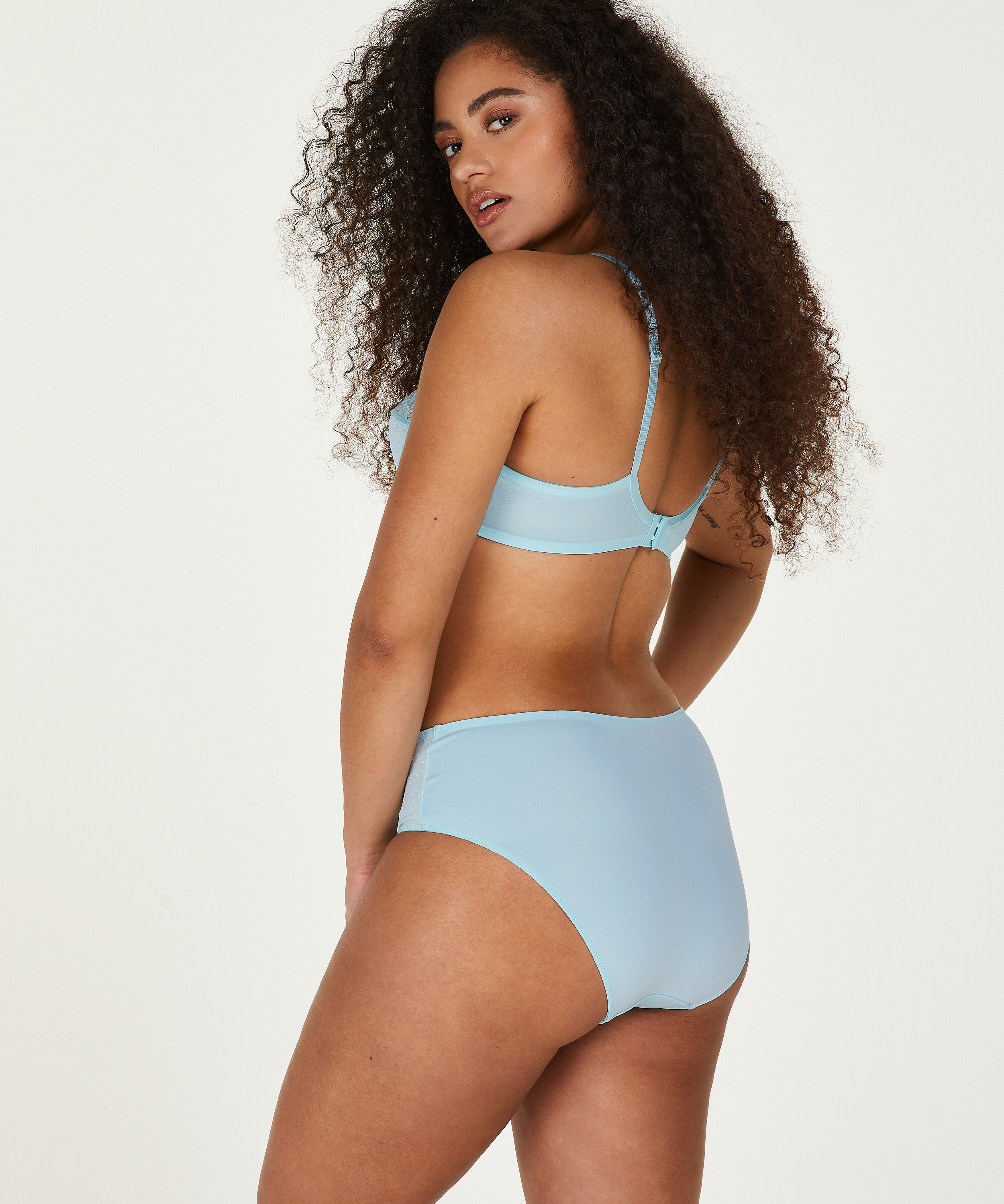 Sophie high knickers, Blue, main