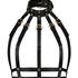 Private Cage Harness Choker, Black