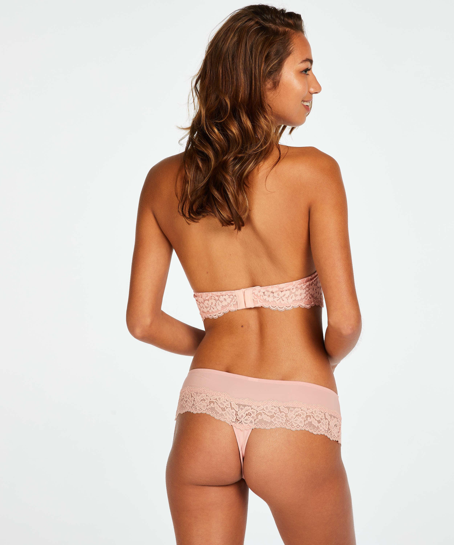 Paris boxer thong, Pink, main