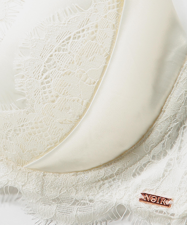 Hannako padded underwired bra, White, main