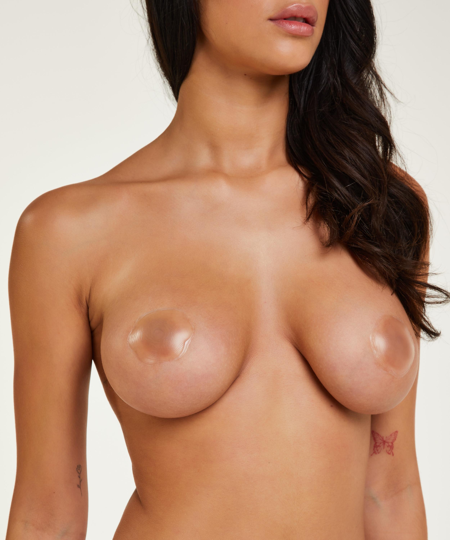 Silicone nipple covers, White, main