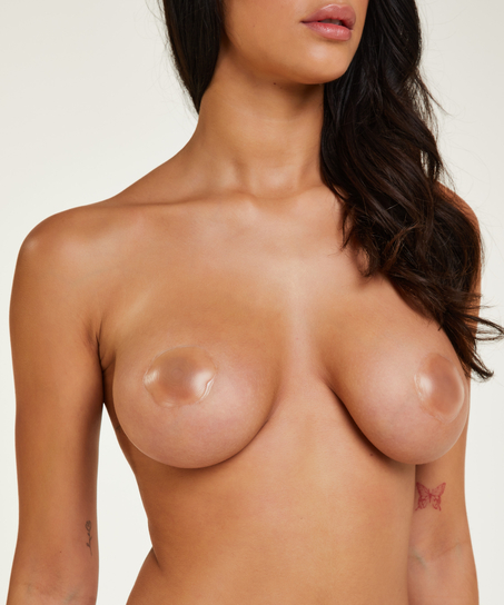 Silicone nipple covers, White
