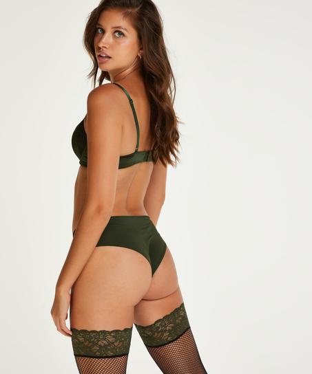 Gina Brazilian Shorts, Green