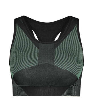 HKMX The Motion sports bra level 2, Green