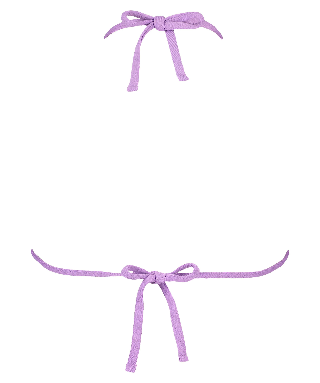 Libby triangle bikini top, Purple, main