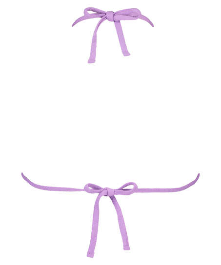 Libby triangle bikini top, Purple
