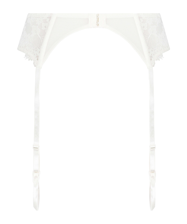 Leyla Suspenders, White, main