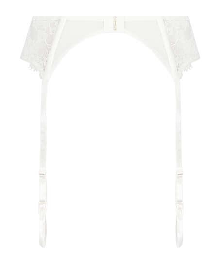 Leyla Suspenders, White