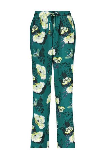 Hunkemöller Tall Lotus Bird Woven Pyjama Bottoms Grey 175657 S, Grey