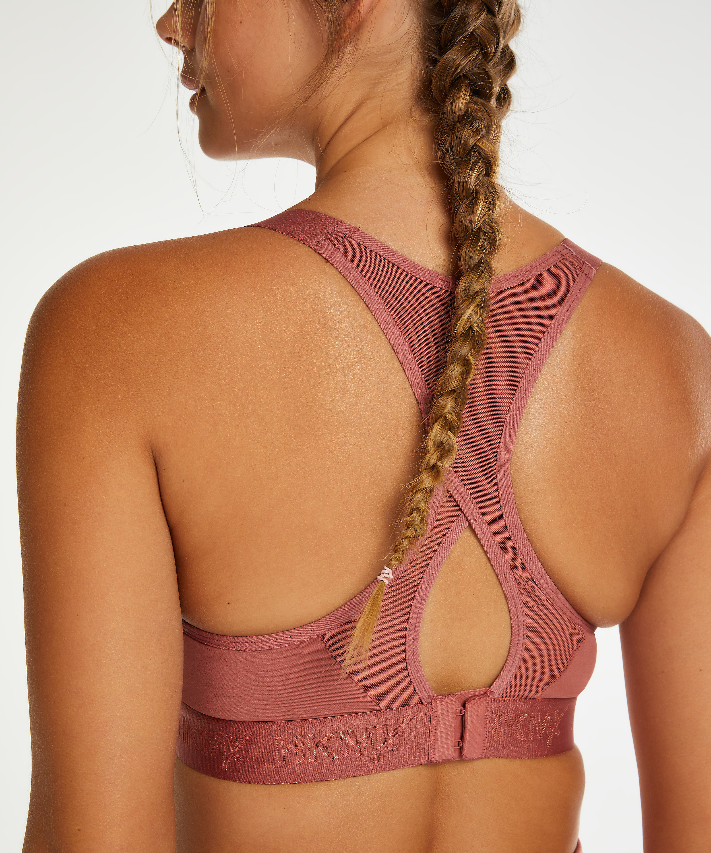 HKMX Sports bra The All Star Level 2, Pink, main