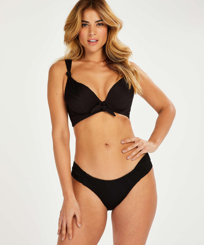 Galibi padded underwired bikini top I AM Danielle Cup E +, Black, main