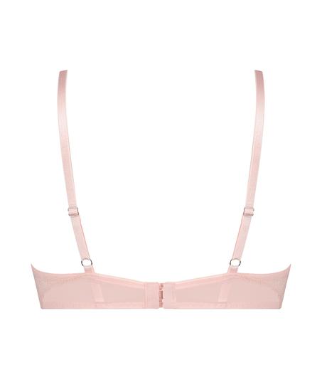 Elle Non-Padded Underwired Bra, Pink