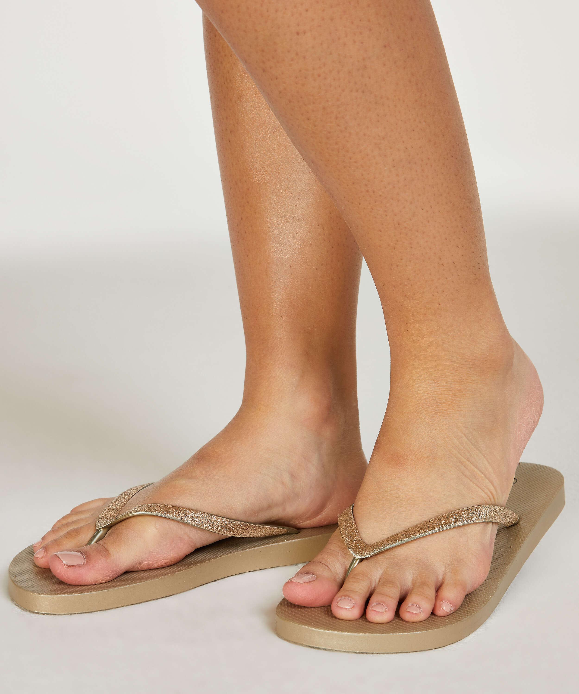 Fancy flip-flops, Yellow, main