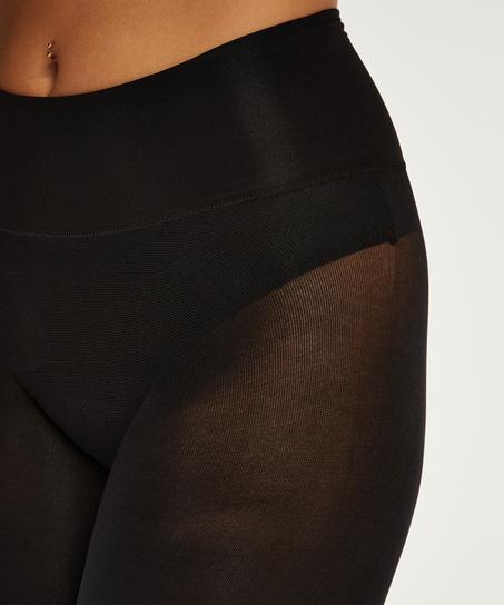 Tights 40 Denier Seamless Velvet Touch, Black