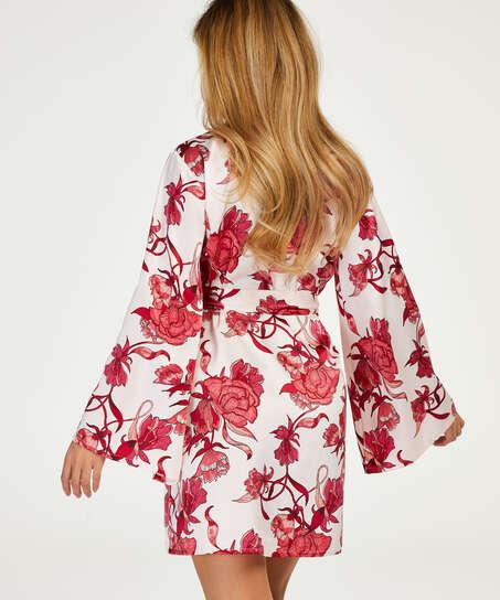 Zinnia Kimono, Pink