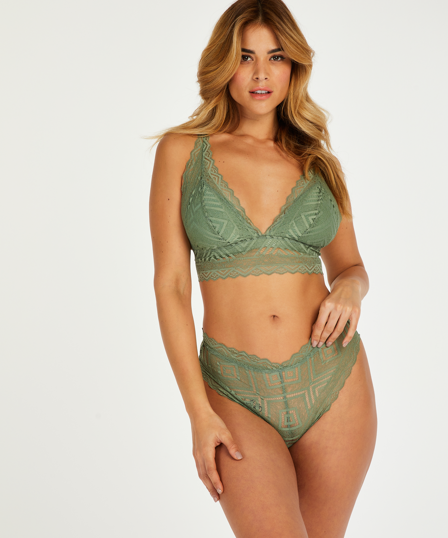 Filomena Bralette I AM Danielle, Green, main
