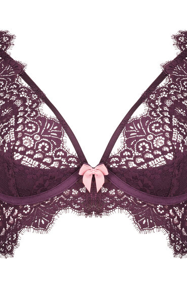 Hunkemöller Marilee Non-padded Underwired Bra Purple 169290 34d, Purple