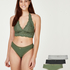 Free Spirit 3-pack of knickers, Green