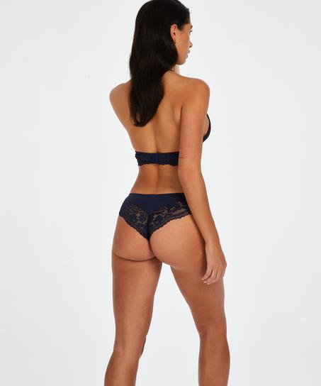 Valencia Brazilian Shorts, Blue