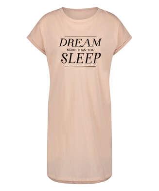 Dream Short-Sleeved Nightshirt, Pink
