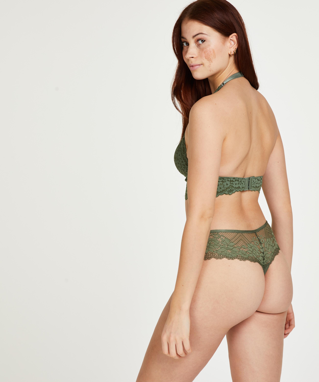Jella thong boxers, Green, main