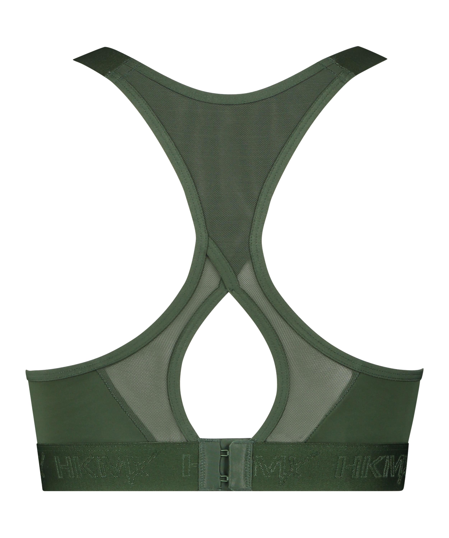 HKMX Sports bra The All Star Level 2, Green, main