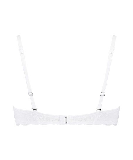 Angie Padded Underwired Bra, One & Only, White