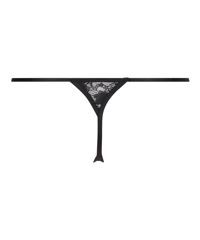 Mini Tanga thong, Black, main