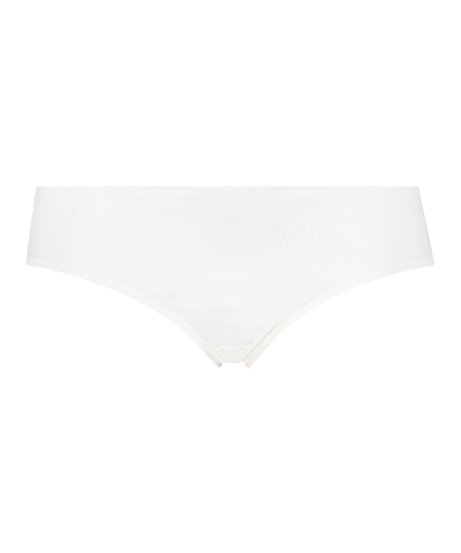 Invisible Brazilian Allover Lace, White, main