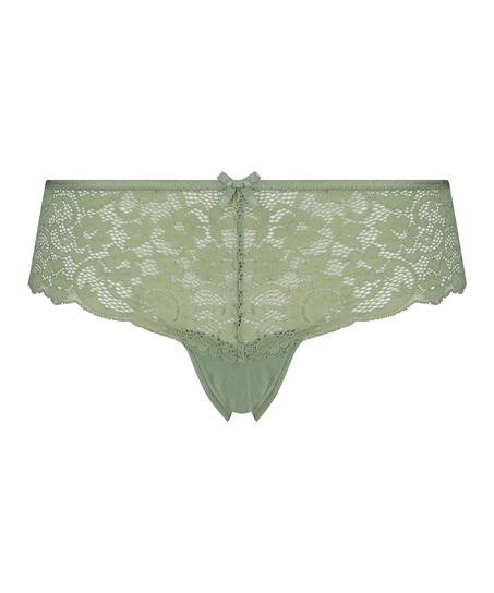 Mia Brazilian Shorts, Green