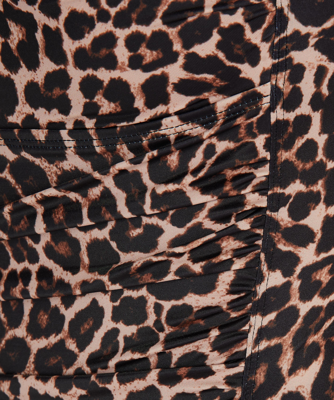 Leopard swimsuit, Beige, main