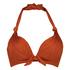 Galibi padded push-up underwired bikini top I AM Danielle Cup A - E, Orange