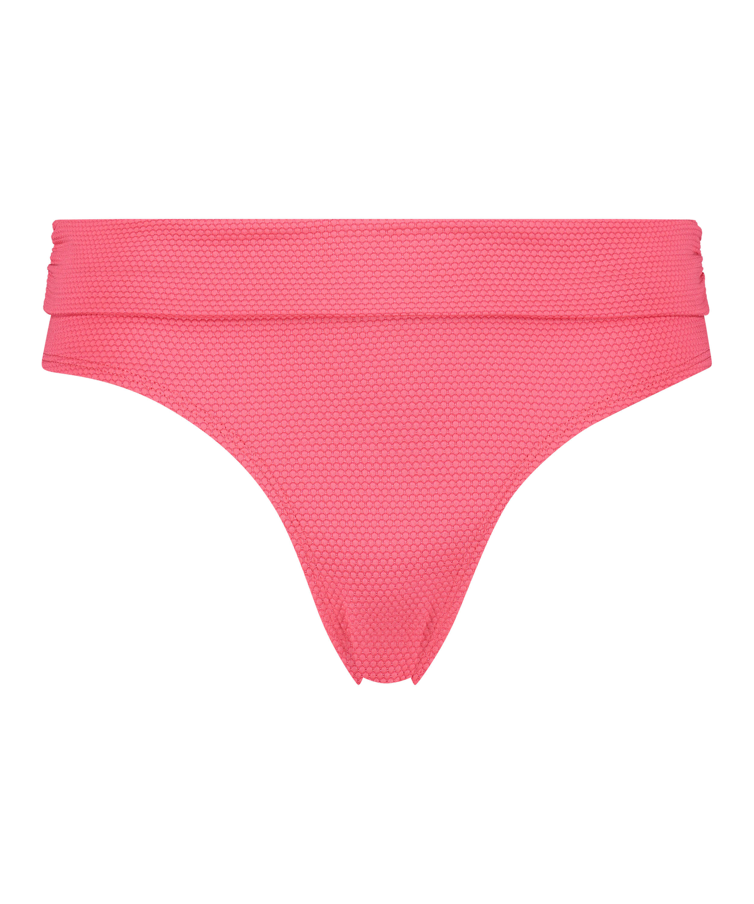 Ruffle Dreams high bikini bottoms, Pink, main