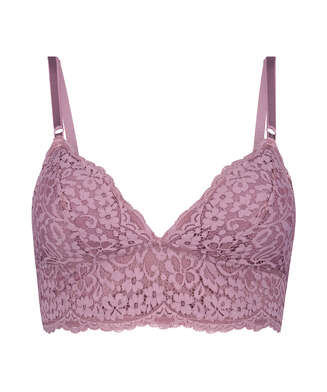 Rose Bralette, Purple