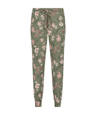 Jersey pyjama bottoms, Green