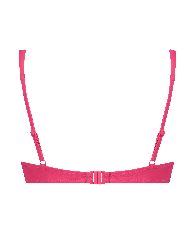 Luxe push-up bikini top Cup A - E, Pink, main