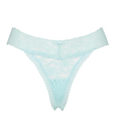 Extra Low V-Thong, Blue