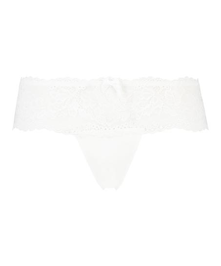 Florence Thong Boxers, White