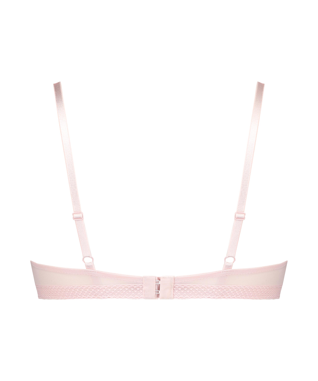 Bessie padded maximizer underwired bra, Pink, main