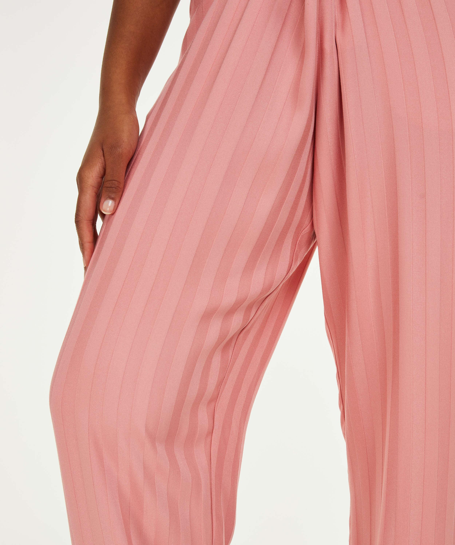 Petite Woven pyjama bottoms, Pink, main