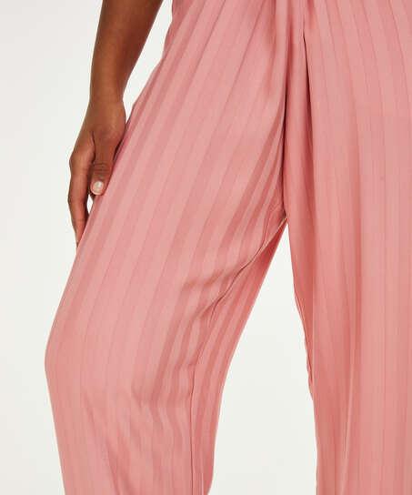 Petite Woven pyjama bottoms, Pink