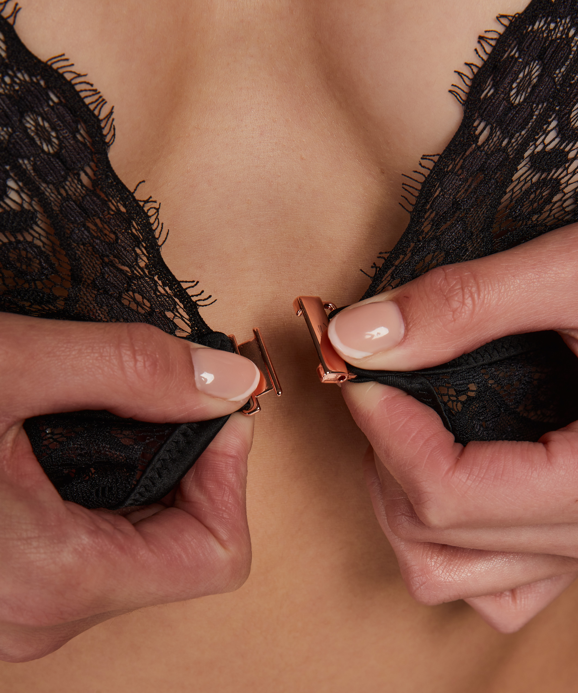 Celeste bralette, Black, main