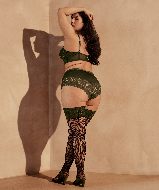 Hold-ups 15 denier I AM Danielle, Green, main