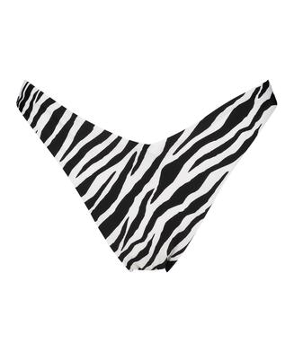 High-cut Rio bikini bottoms HKM x NA-KD, White