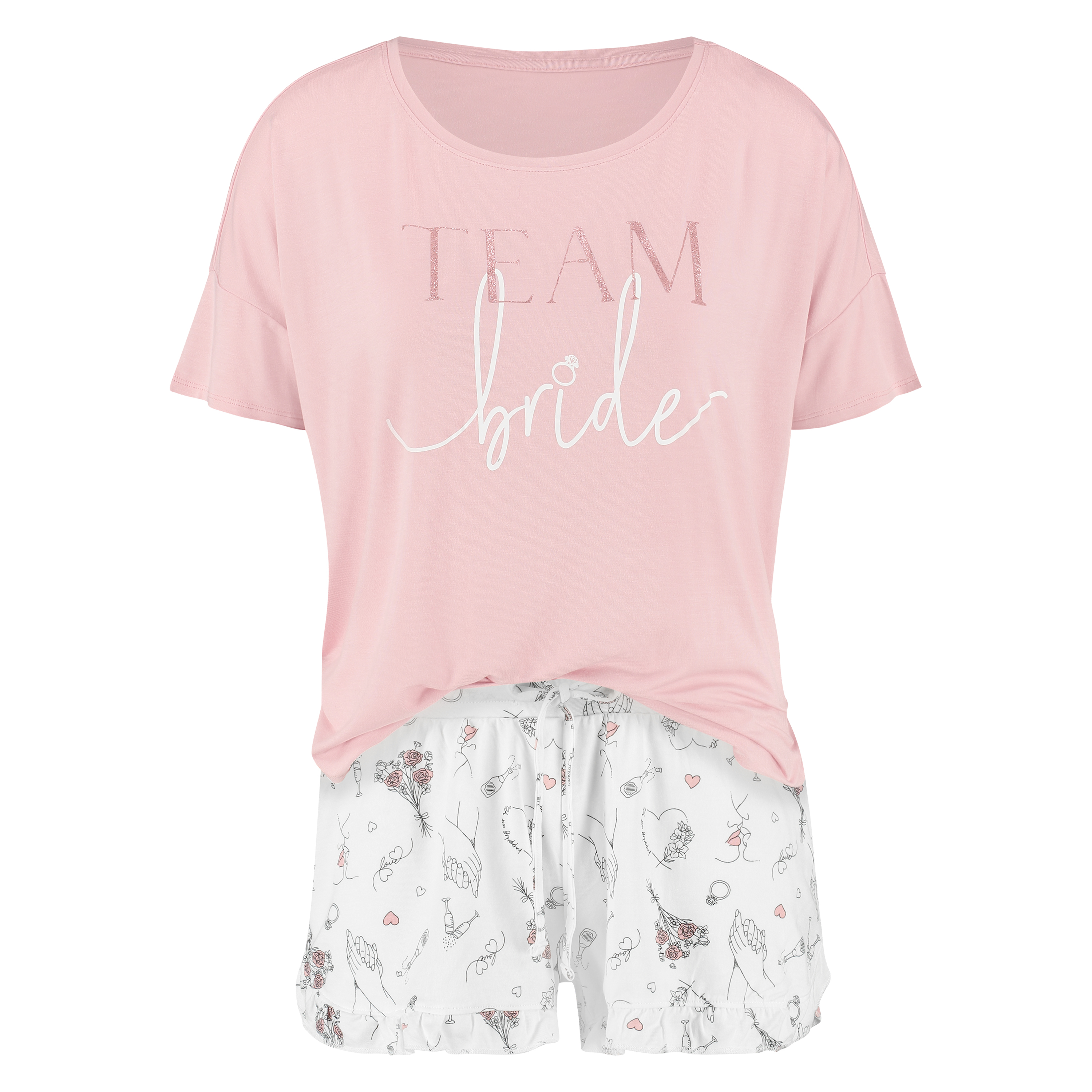 Team Bride Pyjama Set For 24 00 Pyjamas Hunkemoller